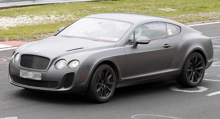 Bentley Continental GT Supersport Erlkönig