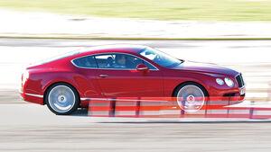 Bentley Continental GT V8, Seitenansicht