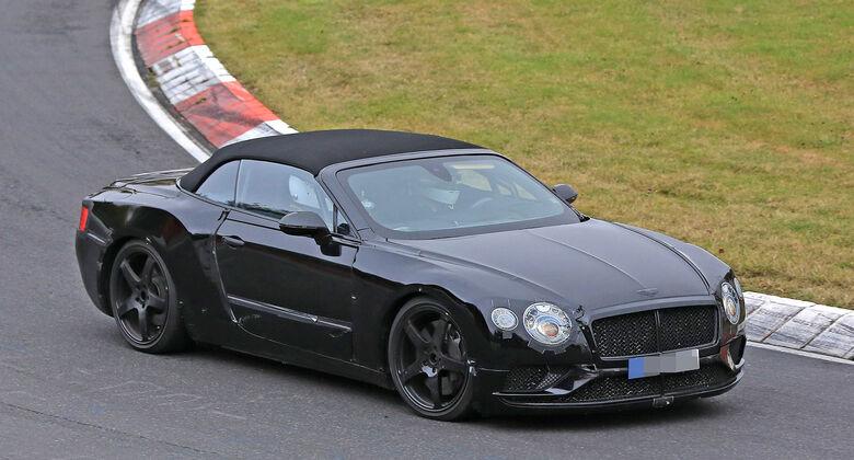 Bentley Continental GTC Erlkönig
