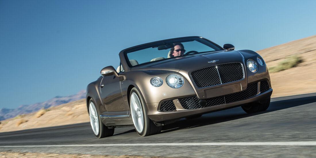Bentley Continental GTC Speed, Frontansicht