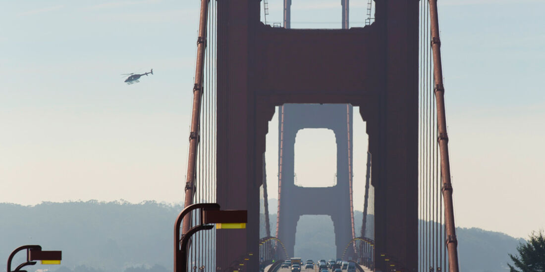 Bentley Continental GTC Speed, Golden Gate Bridge