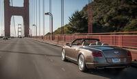 Bentley Continental GTC Speed, Heckansicht, Golden Gate Bridge