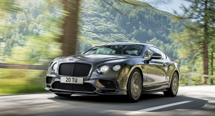 Bentley Continental Supersports 2017 Mit 710 Ps Auf 336 Km H Auto