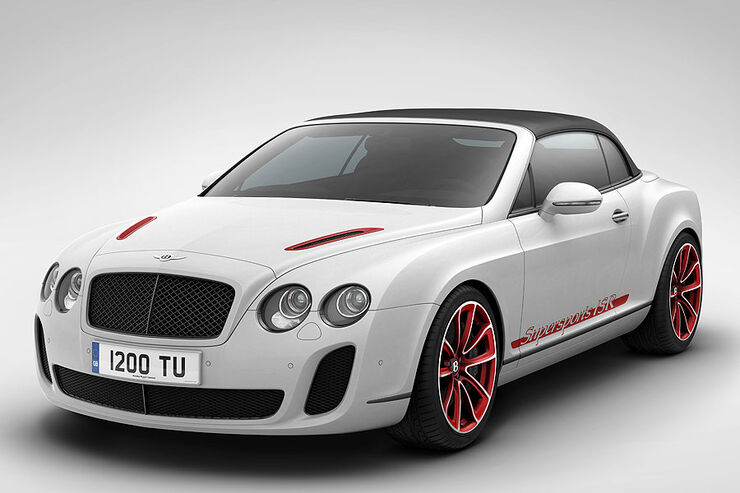 Bentley Continental Supersports Convertible ISR, Sondermodell