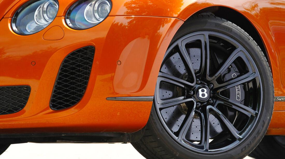 Bentley Continental Supersports, Felge, Vorderrad