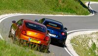 Bentley Continental Supersports, Ferrari FF, Heck, Rückansicht