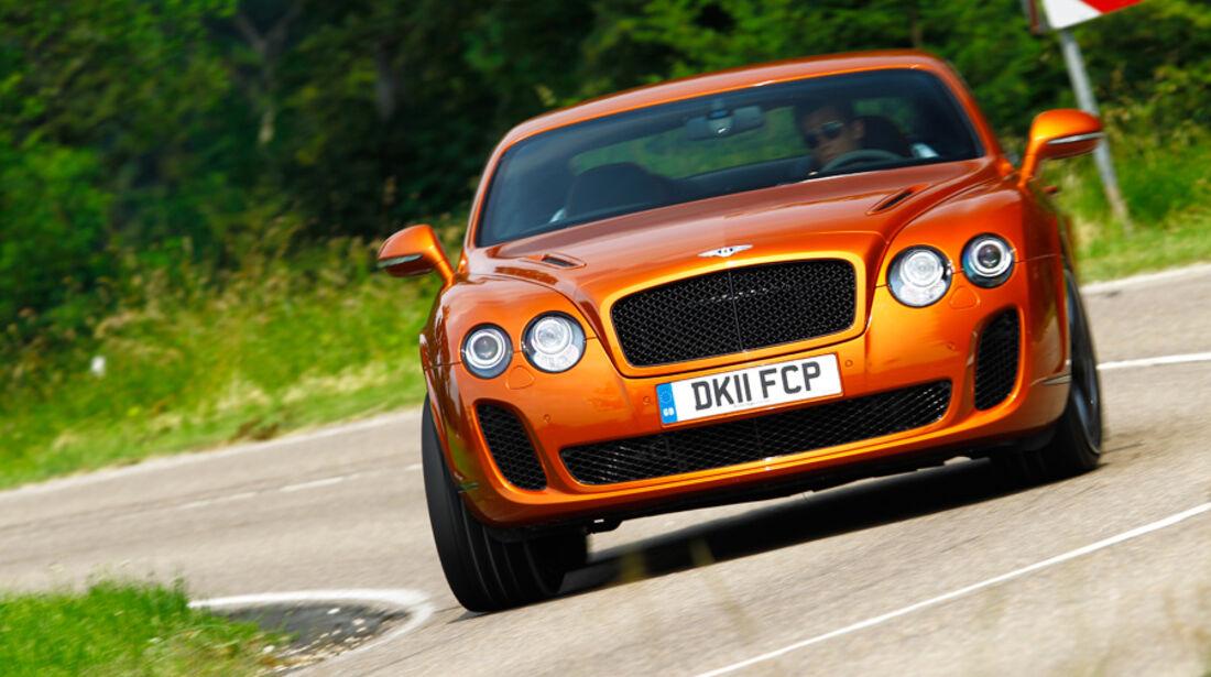 Bentley Continental Supersports, Front, Kurve