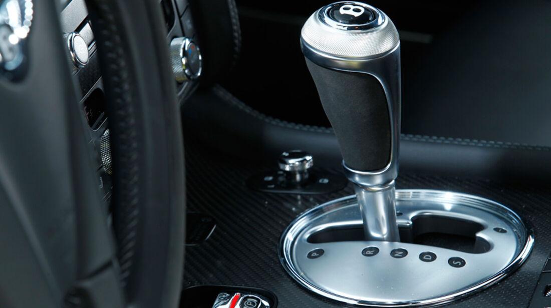 Bentley Continental Supersports, Schaltknauf, Schalthebel