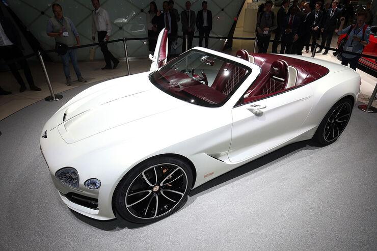 bentley exp 12 speed 6e: luxuscabrio mit reinem elektroantrieb