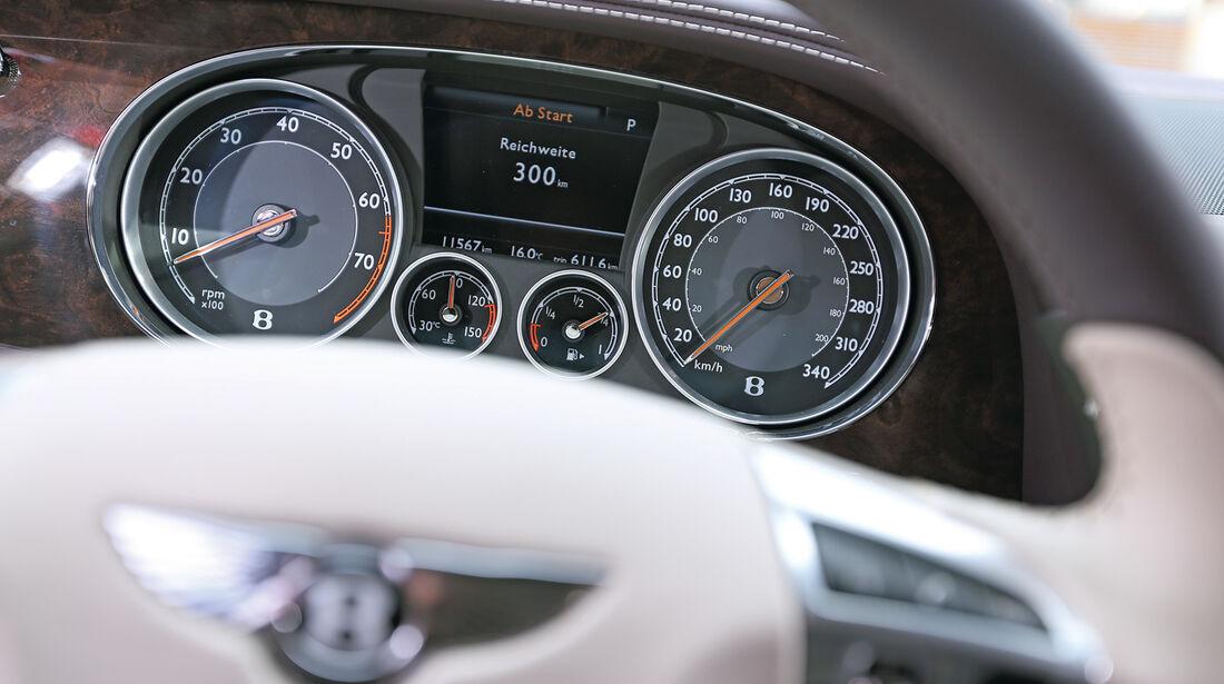 Bentley Flying Spur, Rundinstrumente