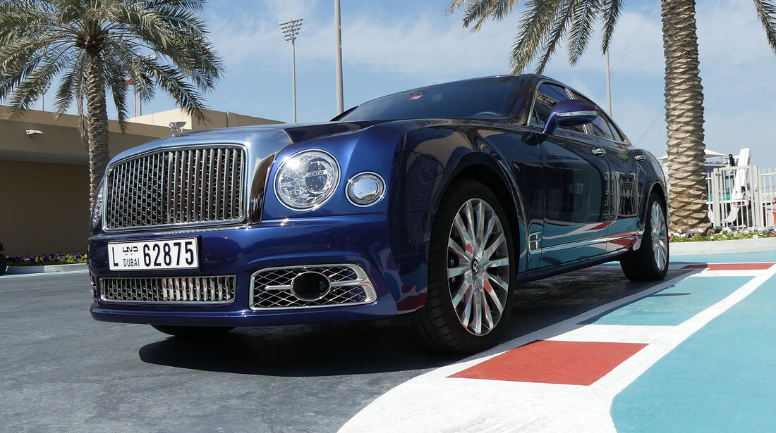 Bentley Mulsanne - Carspotting - GP Abu Dhabi 2018