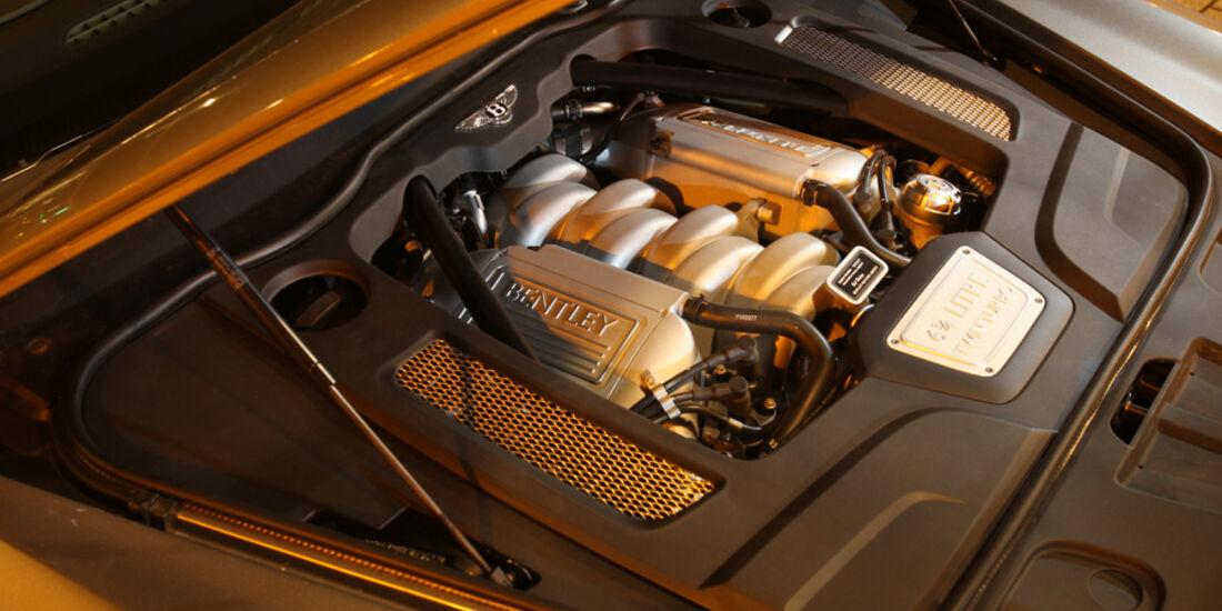 Bentley Mulsanne, Detail, Motor, Motorraum