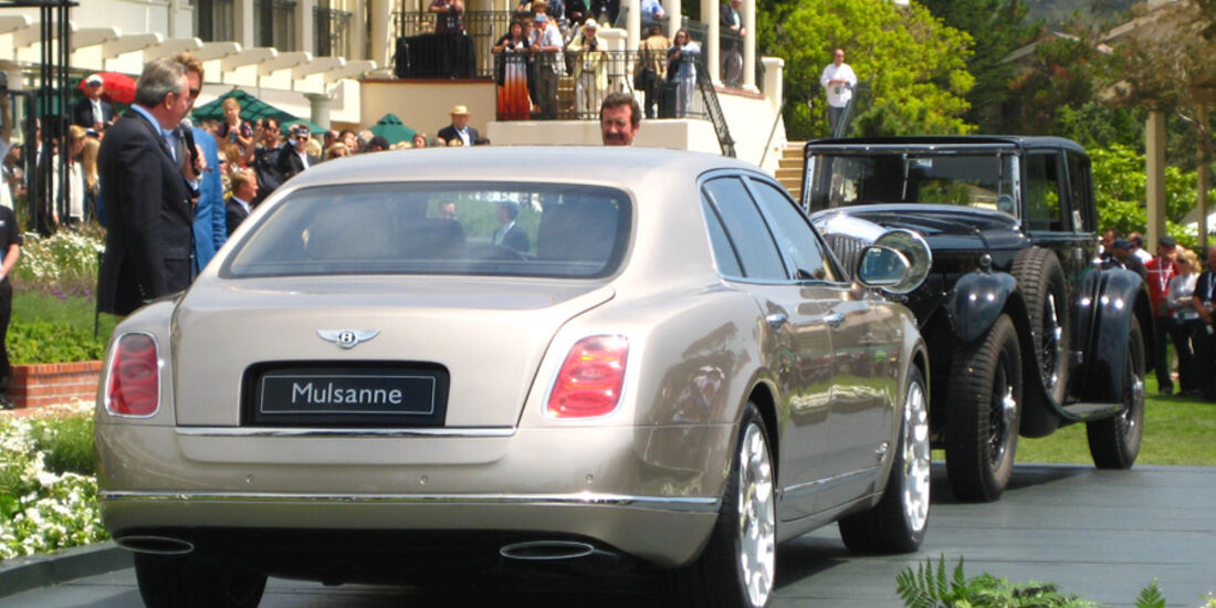 Bentley Mulsanne Pebble Beach