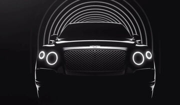 Bentley SUV Screenshoot Teaser
