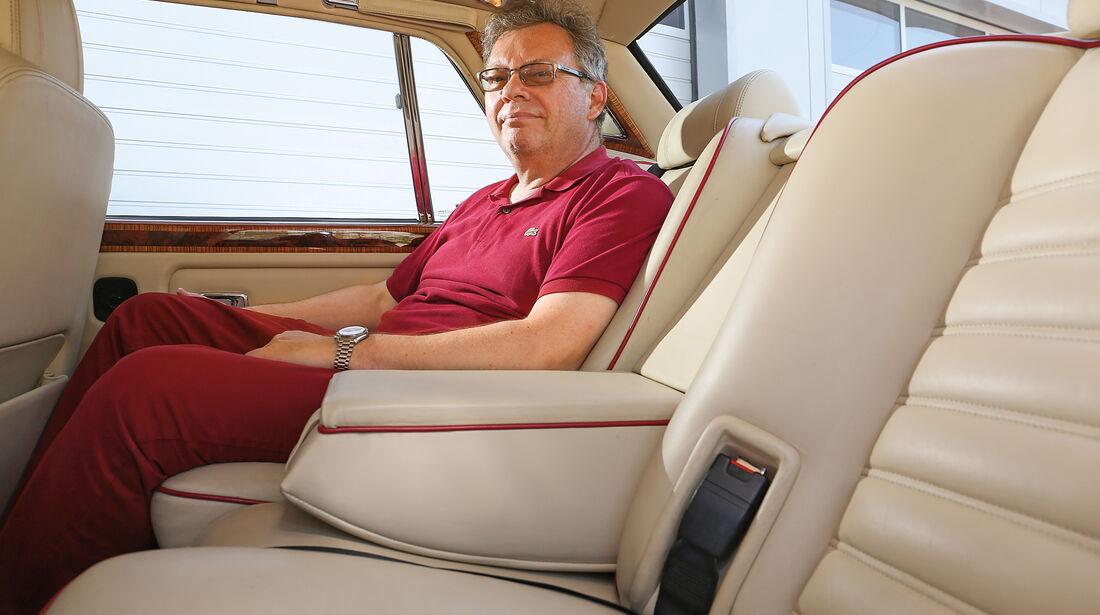 Bentley Turbo R, Fondsitz