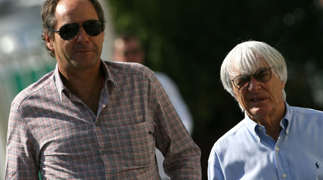 Berger & Ecclestone GP Abu Dhabi 2011
