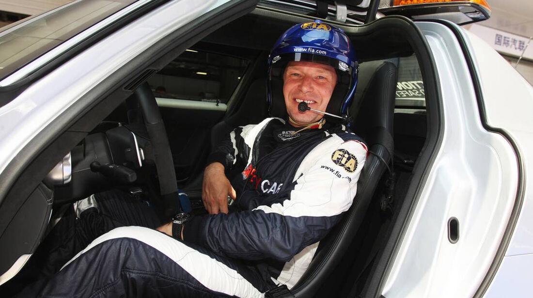 Bernd Mayländer - Formel 1 - GP China - 14. April 2013