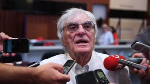 Bernie Ecclestone - Formel 1 - GP Aserbaidschan - Baku - 16. Juni 2016