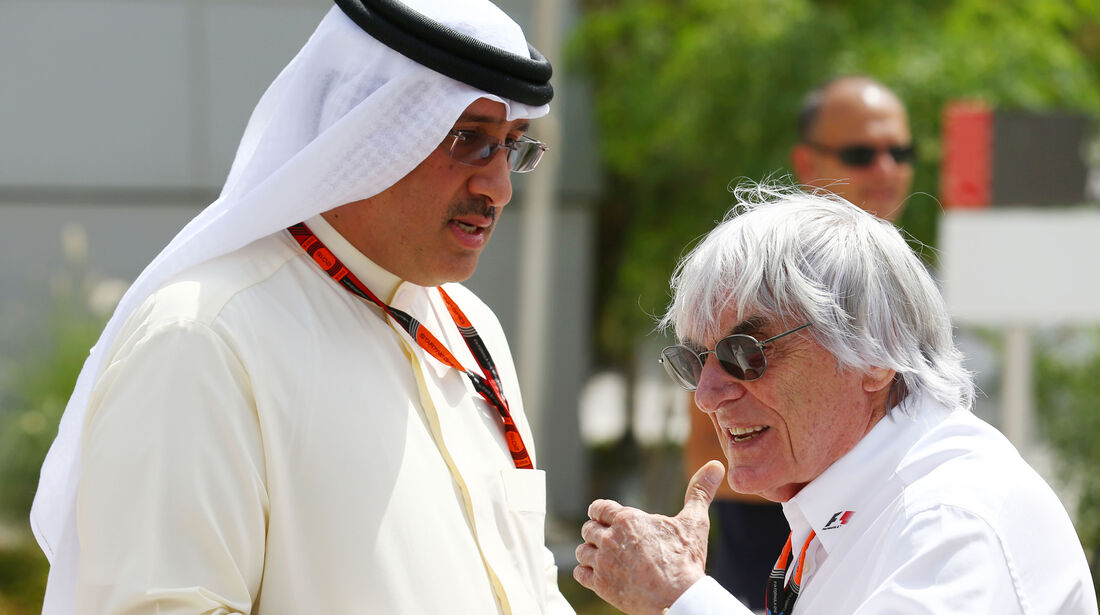 Bernie Ecclestone - Formel 1 - GP Bahrain - 17. April 2015