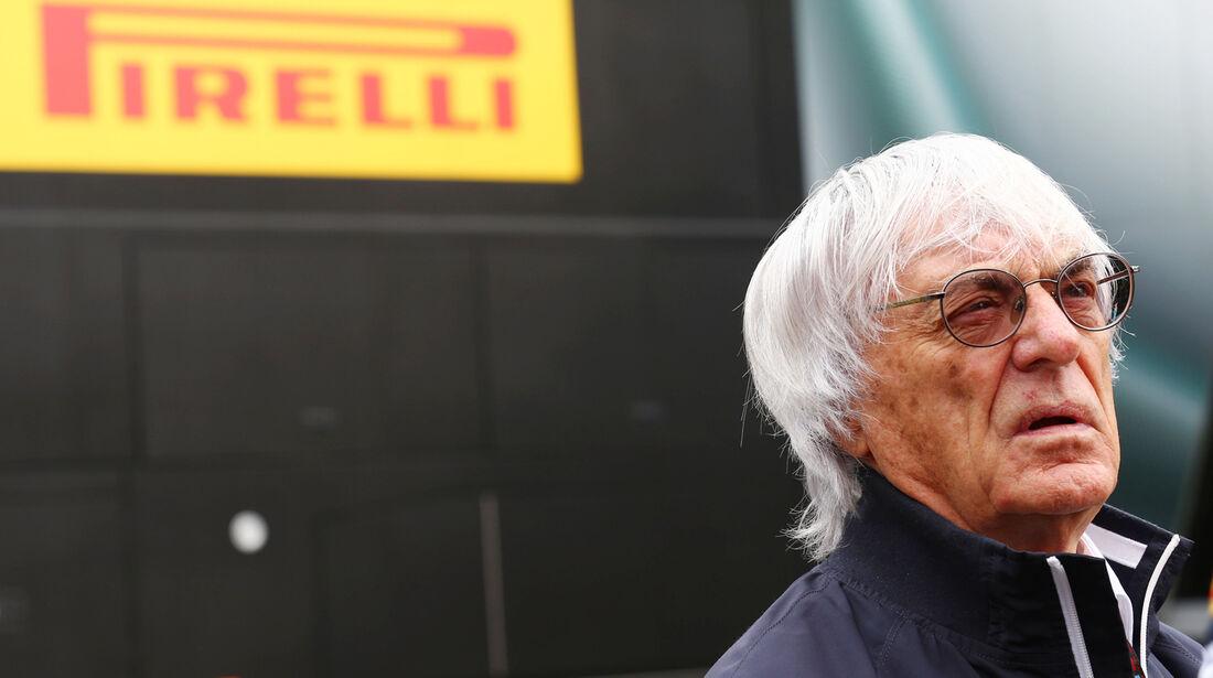 Bernie Ecclestone - Formel 1 - GP Belgien - Spa-Francorchamps - 24. August