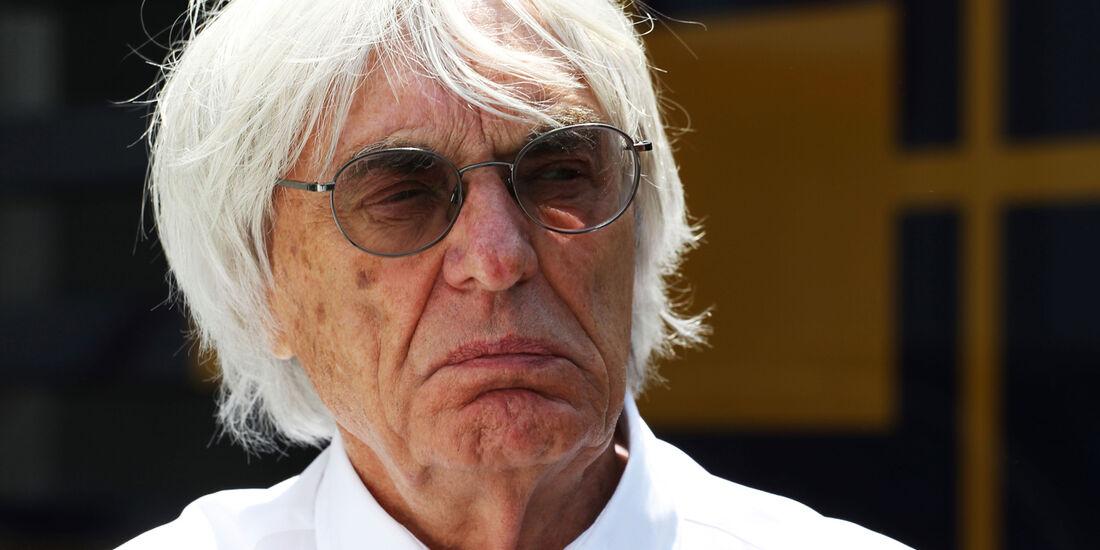 Bernie Ecclestone - Formel 1 - GP Spanien - 11. Mai 2013