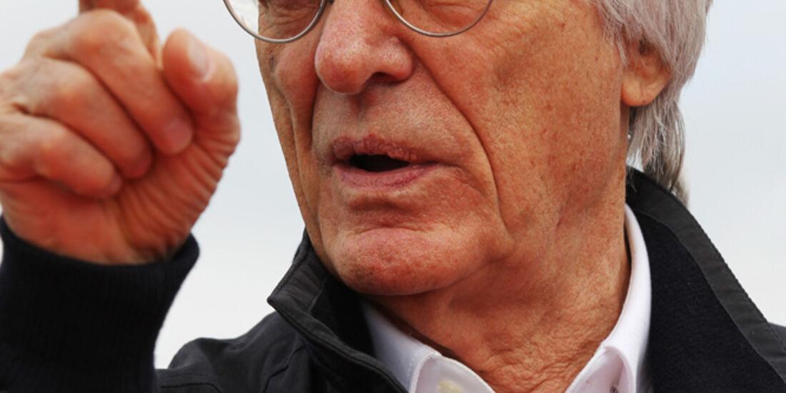 Bernie Ecclestone - Formel 1 - GP USA - Austin - 15. November 2012