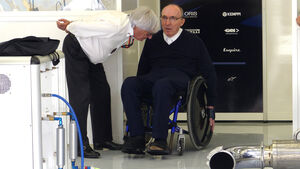 Bernie Ecclestone & Frank Williams - Formel 1 - GP Bahrain - 18. April 2015