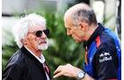 Bernie Ecclestone - Franz Tost - GP Russland 2018 - Sotschi - Qualifying