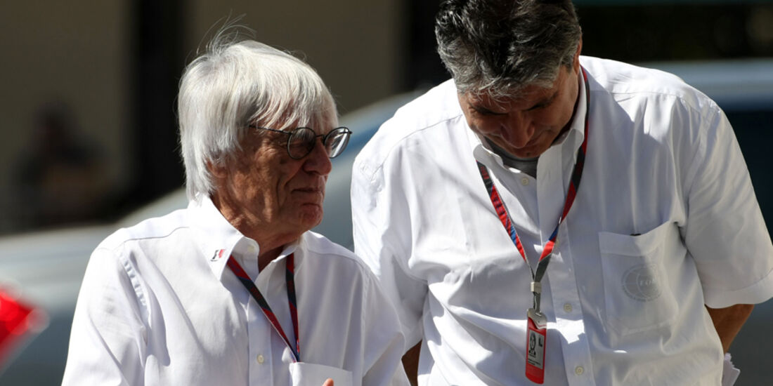 Bernie Ecclestone - GP Abu Dhabi - Freies Training - 11. November 2011
