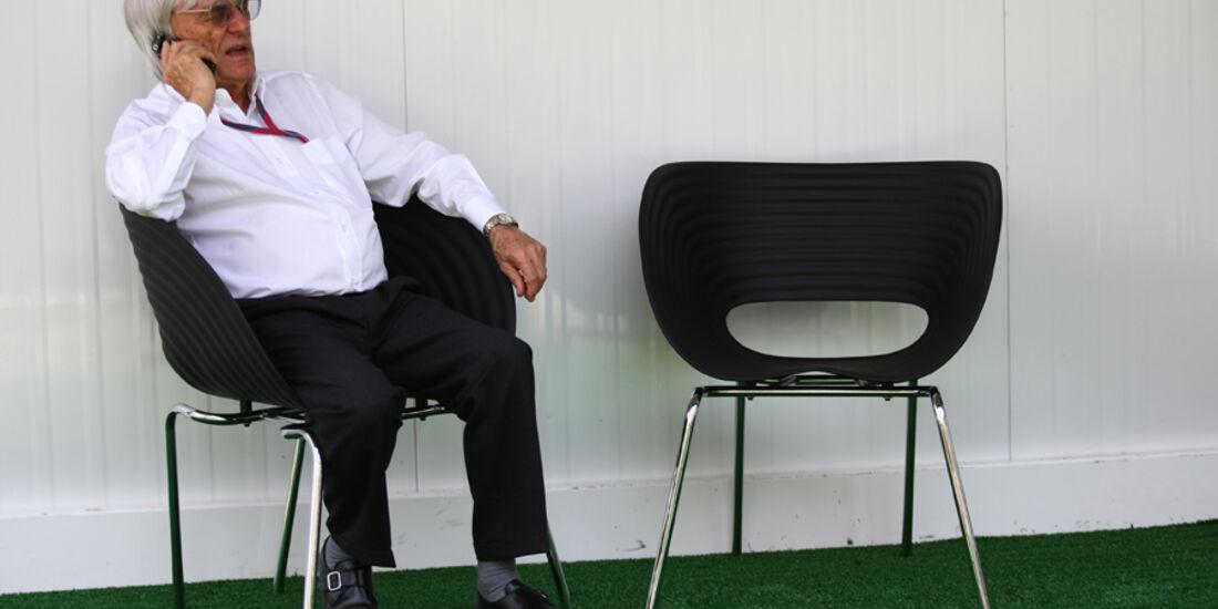 Bernie Ecclestone - GP Brasilien - 25. November 2011