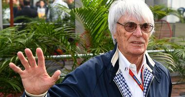 Bernie Ecclestone - GP Mexiko 2016