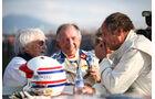 Bernie Ecclestone, Harald Grohs & Gerhard Berger - Legenden-Parade - GP Österreich 2018