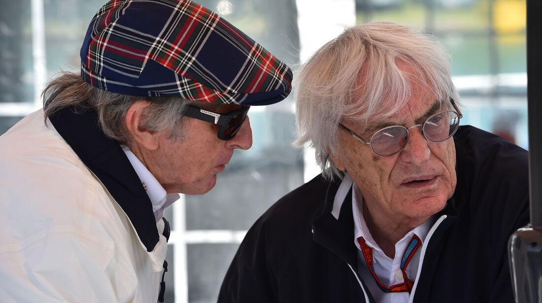 Bernie Ecclestone - Jackie Stewart - GP Kanada 2016 - Montreal - Qualifying