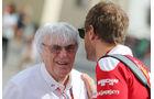 Bernie Ecclestone & Sebastian Vettel - Formel 1 - GP Abu Dhabi - 25. November 2016
