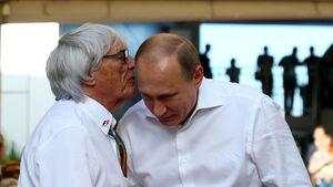 Bernie Ecclestone & Vladimir Putin - GP Russland 2014