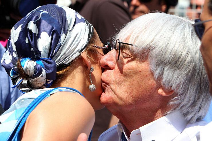 Bernie Ecclestone und Jennifer Lopez