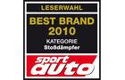 Best Brand 2010 Stossdämpfer Logo