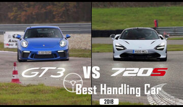 Best Handling Car 2018, Porsche vs. McLaren