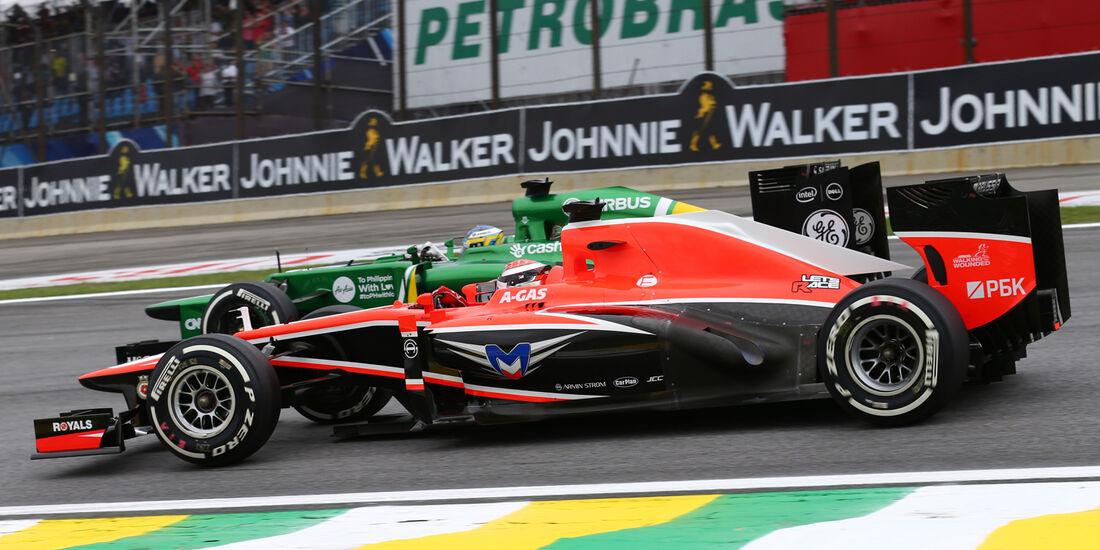 Bianchi vs. Pic - GP Brasilien 2013
