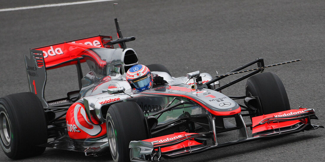 Bilder vom ersten Testtag in Jerez 2010