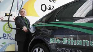 Bio-Ethanol-Tankstelle