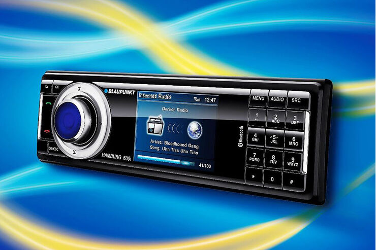 blaupunkt internet radios f rs auto zur cebit auto. Black Bedroom Furniture Sets. Home Design Ideas