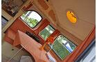Blick in Campingwohnwagen