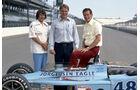 Bobby Unser - Dan Gurney - Wayne Leary - Indy 500 (1975) - Motorsport
