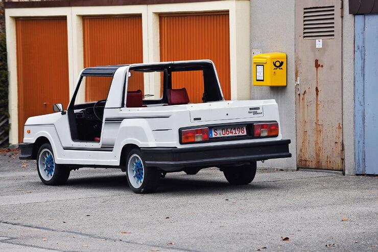 Bohse Euro-Star Strandwagen, Heck