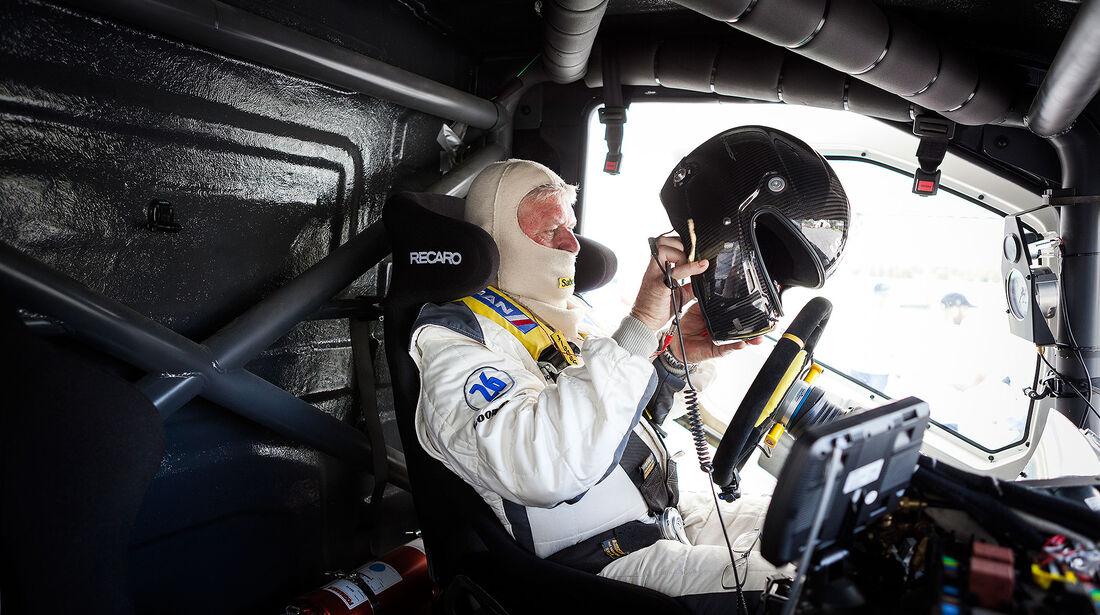 Boije Ovebrink im Volvo Race Truck Iron Knight