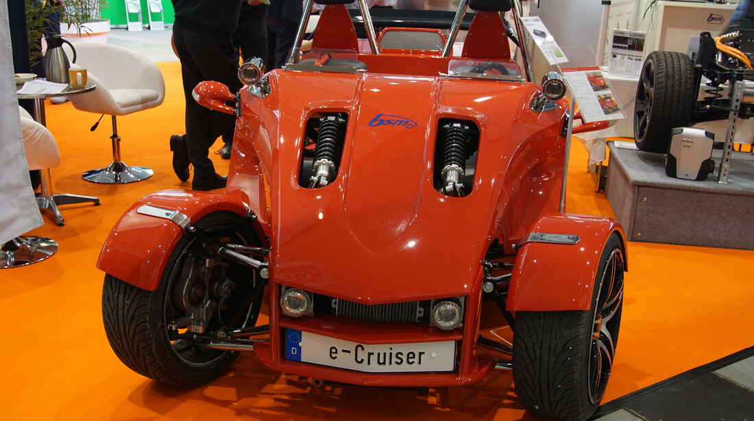 Boom Trikes e-Cruiser - Electric Vehicle Symposium 2017 - Stuttgart - Messe - EVS30