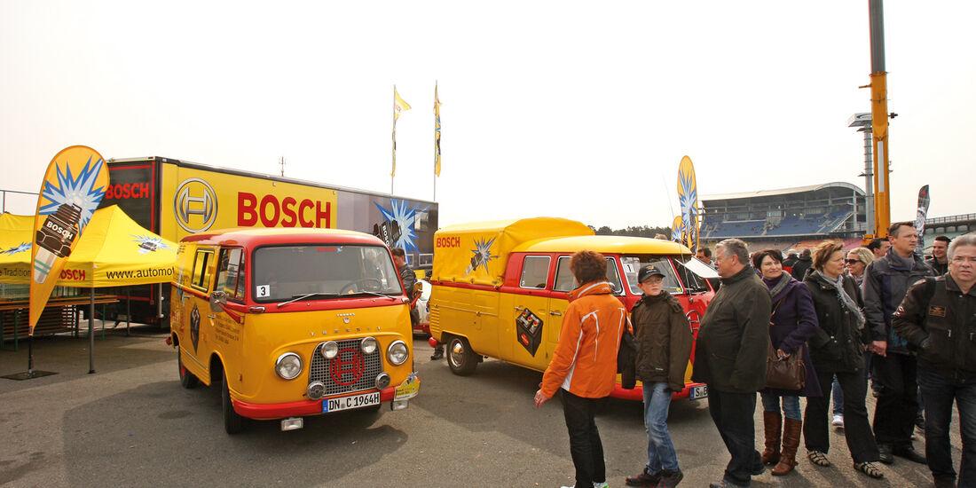 Bosch Hockenheim Historik, Transporter