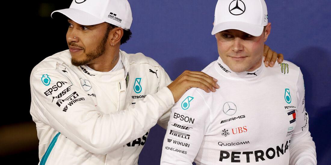 Bottas & Hamilton - Formel 1 - GP Abu Dhabi  -24. November 2018