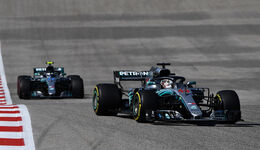 Bottas & Hamilton - Formel 1 - GP USA - Austin - 2018